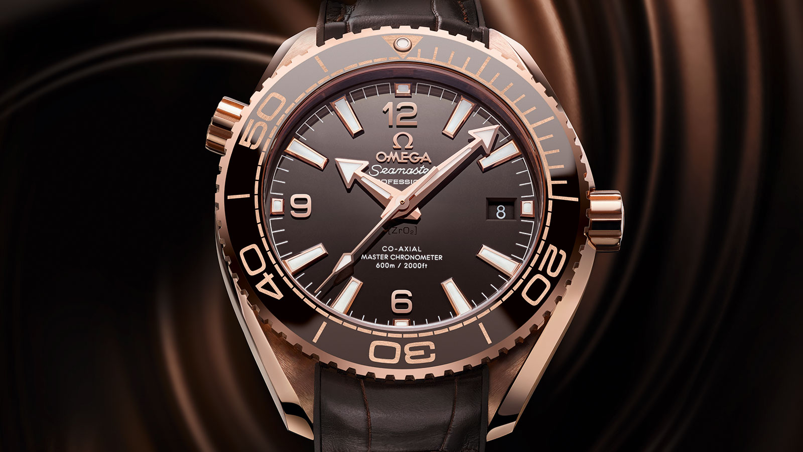 海馬系列 Planet Ocean 600米 Planet Ocean 600米 歐米茄Co‑Axial Master Chronometer 39.5毫米 腕表 - 215.63.40.20.13.001