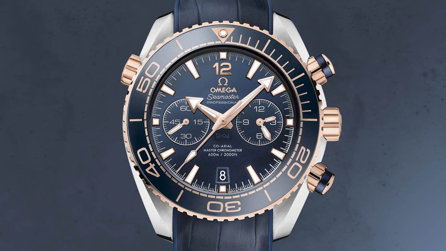 海馬系列 Planet Ocean 600米 Planet Ocean 600米 歐米茄Co‑Axial Master Chronometer 45.5毫米計時腕表 - 215.23.46.51.03.001 - 瀏覽 1